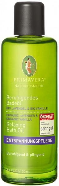 Beruhigendes Badeöl Lavendel Vanille 100 ml