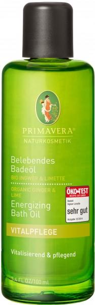 Belebendes Badeöl Ingwer & Limette 100 ml