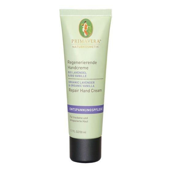 Regenerierende Handcreme Bio Lavendel & Bio Vanille 50 ml