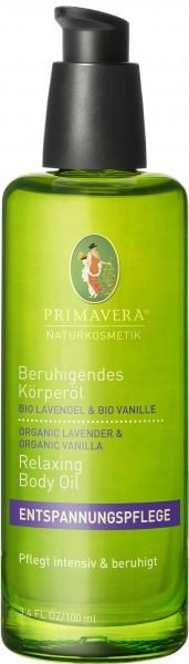 Beruhigendes Körperöl Bio Lavendel & Bio Vanille 100 ml